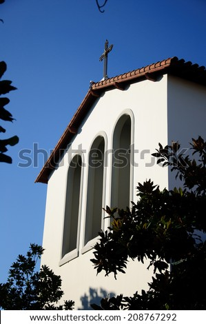 Good Shepherd catholic church - stock photo