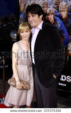 "Goran Visnjic and Ivana Vrdoljak attend the World Premiere of ""Leatherheads"" held at he Grauman's Chinese Theater in Hollywood, California, United States on March 31, 2008."
