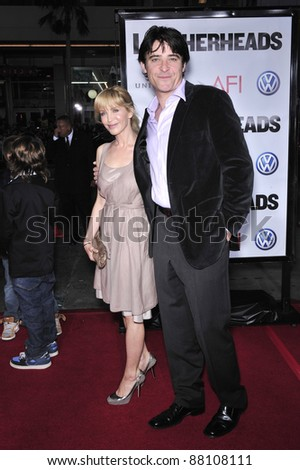 "Goran Visnjic & date at the world premiere of ""Leatherheads"" at Grauman's Chinese Theatre. March 31, 2008  Los Angeles, CA Picture: Paul Smith / Featureflash"