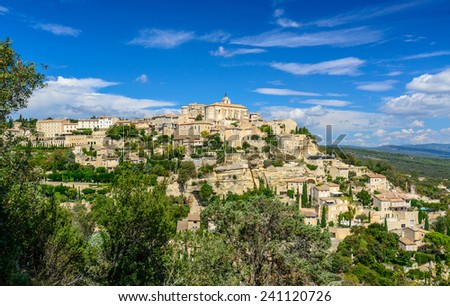 Gordes, Vaucluse, South of France, Provence