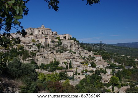 Gordes Village, France - stock photo