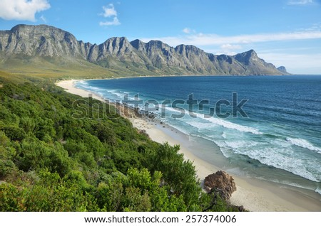 Gordons Bay near Cape Town, South Africa - stock photo