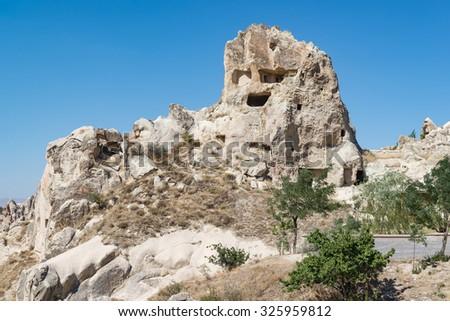 Goreme Open Air Museum, Cappadocia,Turkey - stock photo
