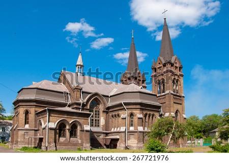 Gothic church - stock photo