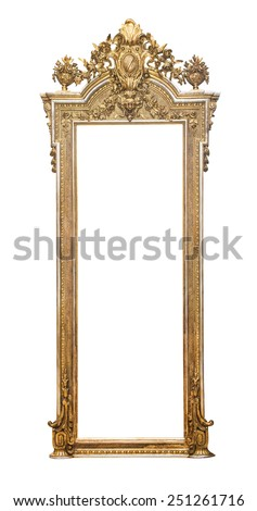 Gothic frame - stock photo