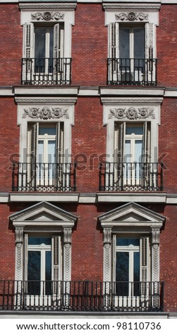 Brick Apartment Building neo-classic stock images, royalty-free images & vectors | shutterstock