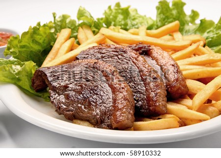 gourmet - stock photo