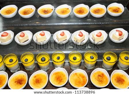 Gourmet catering - stock photo