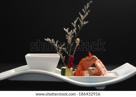 gourmet japanese crab - stock photo