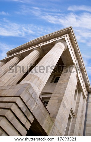 Government Building - stock photo
