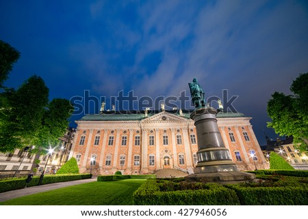 Government building at Gamla Stan