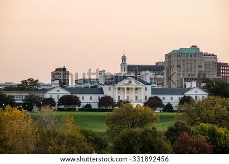 Government building in Richmond VA, USA - stock photo