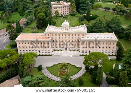 Governorate of Vatican City State in Rome, Italy - stock photo