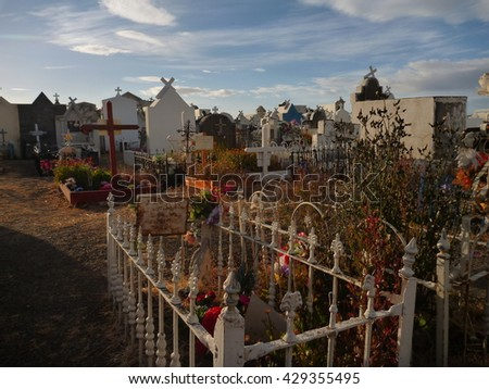 grace in punta arenas cemetery in chile