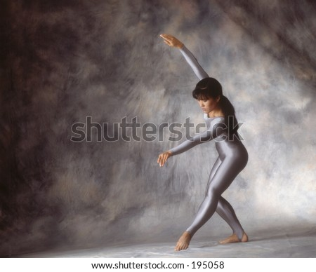 Graceful dancer - stock photo