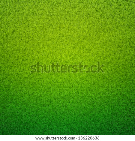 gradient of green hairy grass texture or background - stock photo