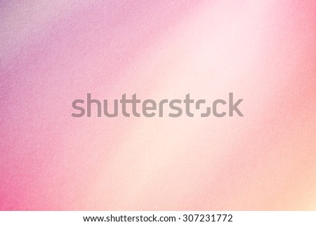 gradient pastel color abstract background with grunge paper texture - stock photo