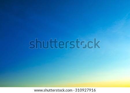 gradient sky background - stock photo