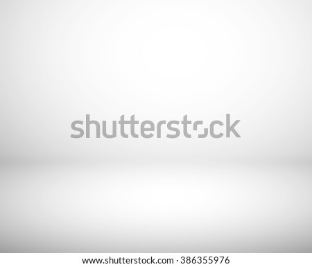 Gradient white abstract studio background  - stock photo