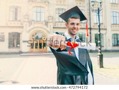 graduation day stock images royalty free images vectors shutterstock. Black Bedroom Furniture Sets. Home Design Ideas
