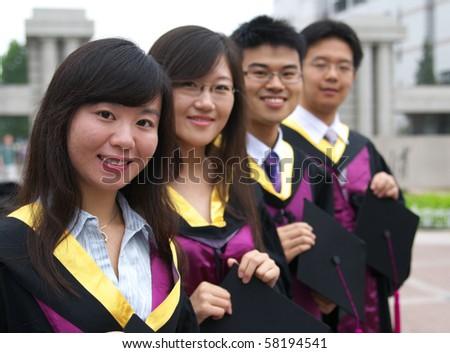 graduation - stock photo