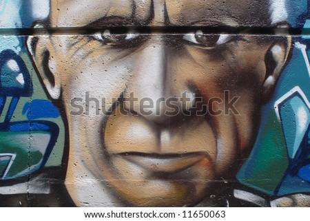 Graffiti - stock photo