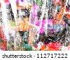 graffiti paint - stock photo