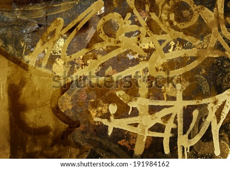 graffiti paint background  - stock photo