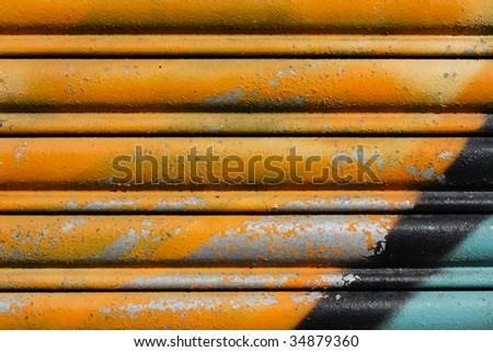 graffiti texture - stock photo