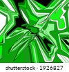 grafitti green - stock vector