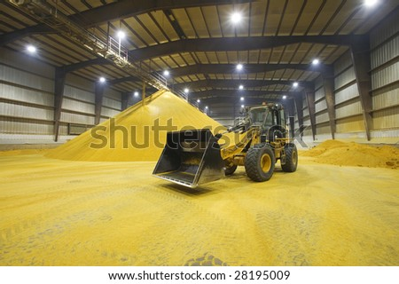 Grain Tractor - stock photo