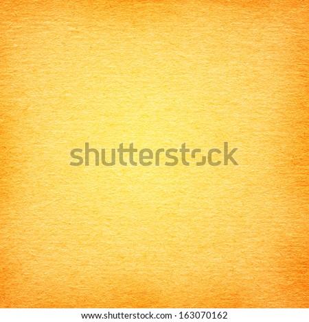 grainy  paper texture light orange background - stock photo