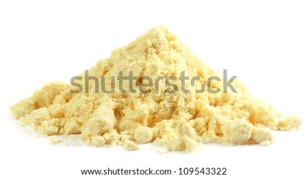 Gram flour made of chickpeas named as beshon in Indian subcontinent - stock photo