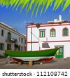 Gran canaria Puerto de Mogan white houses colonial in canary Islands - stock photo