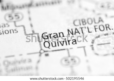 Gran Quivira. New Mexico. USA.
