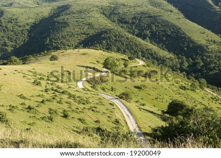 Gran Sasso d'Italia, Road of Vasto (L'Aquila, Abruzzi, Italy) - Mountain landscape at summer