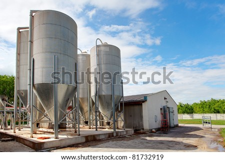 Granary - stock photo