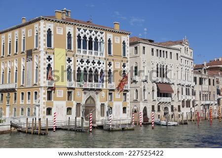 Grand Canal, Venice, Veneto, Italy - stock photo