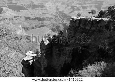 grand canyon - stock photo