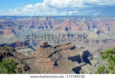 Grand Canyon 1 - stock photo