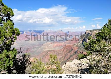 Grand Canyon 2 - stock photo