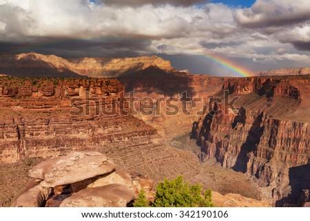 Grand Canyon landscapes - stock photo