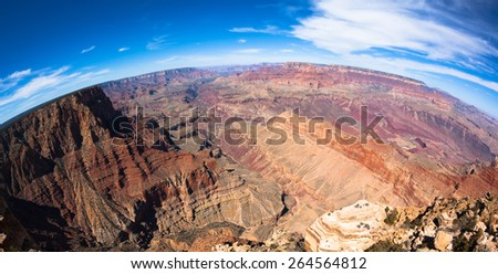 Grand Canyon National Park in Arizona - stock photo