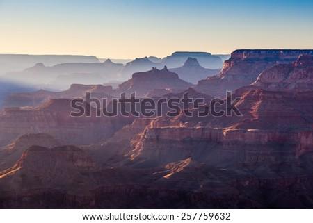 Grand Canyon National Park, North Rim - stock photo