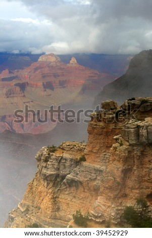 Grand Canyon National Park, USA - stock photo