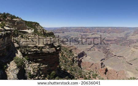 Grand Canyon panoramic view