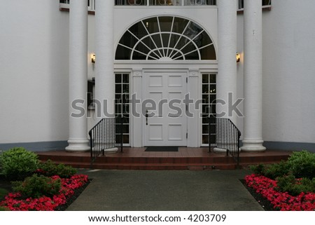 Grand Entrance - stock photo