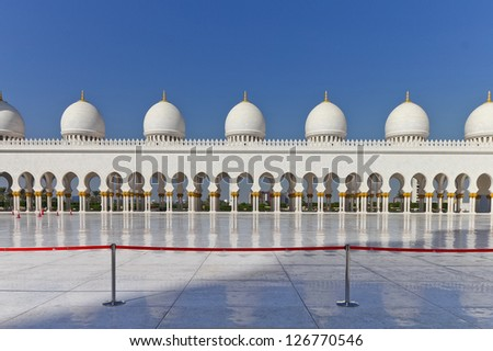 Grand Mosque Abu_Dhabi