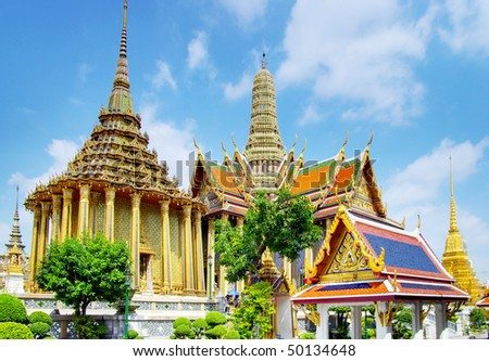 Grand palace - Bangkok - stock photo