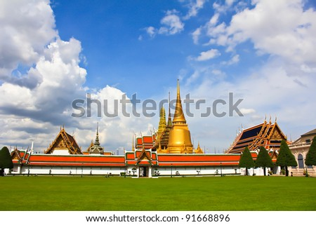 Grand Palace From thailand. - stock photo
